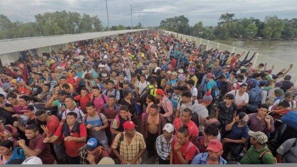 Declaración: paso libre y seguro y plenos derechos políticos y sociales para la caravana migrante