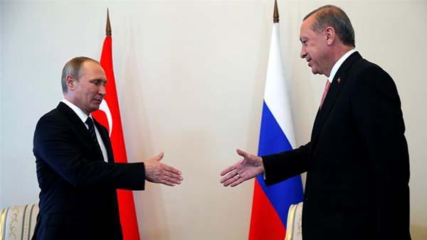Simbólica visita de Erdoğan a Putin