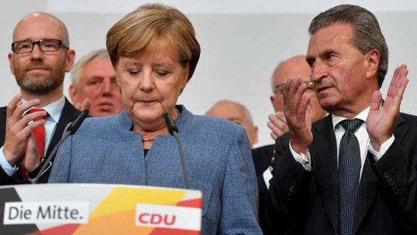 Triunfo amargo de Merkel, se hunde el SPD y los neonazis entran al Bundestag